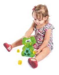 Elefante didático ted brinquedo infantil