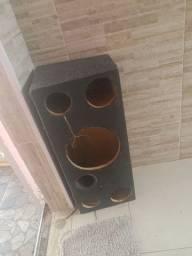 Caixa de som para falante de 12
