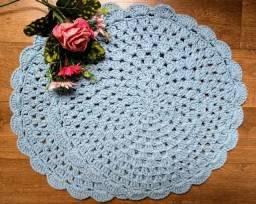 Souplast de crochê azul