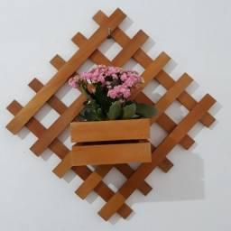 Linda floreira da Art em Madeira decorações