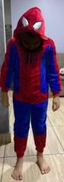 Macacão Infantil Marvel Homem Aranha