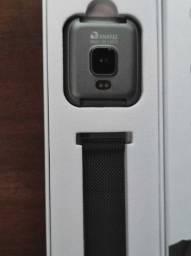 Relogio Smartwatch P8 Certificado pela Anatel(Nao respondo Chat 75-9-91-00-27-64)