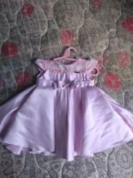 Vestido de festa infantil tamanho G