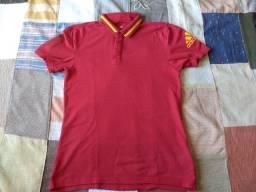 camisa seleção da espanha polo adidas