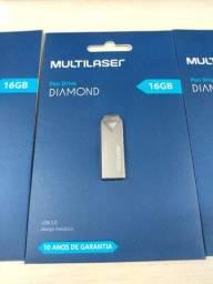 Pendrive Multilaser Diamond 16GB
