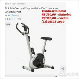 Vendo bicicleta ergométrica seminova