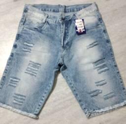 Promoção bermudas jeans