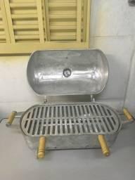 Churrasqueira de Alumínio Fundido a Bafo GRANDE