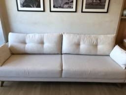 Vendo sofá linho conservado