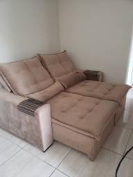 Sofá reclinável 2 metros