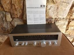 Receiver Sansui R70 com manual