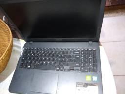 Notebook Samsung com defeito np350xbe