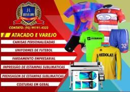 Camisas Personalizadas e Fardamento Empresarial e Esportivo