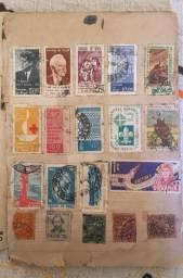 Vende-se coleção de selo raro