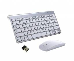 Kit teclado e mouse sem fio ultrafino (modelo Mac Apple)