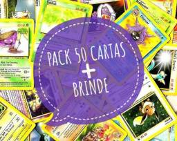 Título do anúncio: 100 Cartas Pokémon Original Ler anúncio
