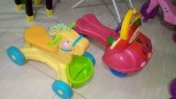 Andadores modelo de empurrar vira tbem carrinho