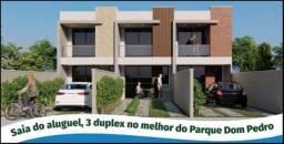 WG - Saia do Aluguel, 3 Duplex do Parque Dom Pedro com 03 Quartos