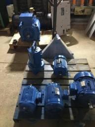 Motor elétrico trifásico para industrial