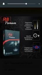Lâmpada led R8 premium H7