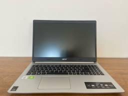 Acer aspire 5 (i5 10ª geração e placa de vídeo dedicada)