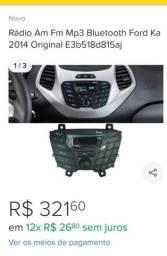 Vendo rádio Am e FM original novo sem uso do Ford Ka 2014 a 2019 em cajazeiras