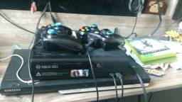 Xbox 360 250 gigas completo
