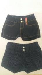 Short feminino com Lycra R$ 13,00
