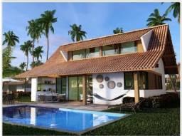 Bangalô Casa na frente do Mar Porto de Galinhas 4Qts 3 suítes 218m² Cupe Beach alto luxo