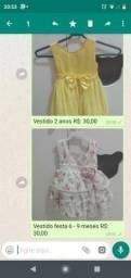 Em Cacoal ,Vestidos de festa infantil usado apenas 1 vez!!! Em ótimo Estado