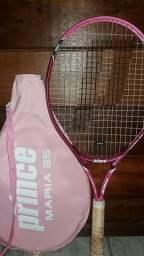 Raquete de tênis com capa