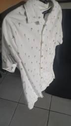 Camisa de botão TAM P