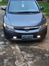 Civic lxs 1.8 2007 impecavel - 2007