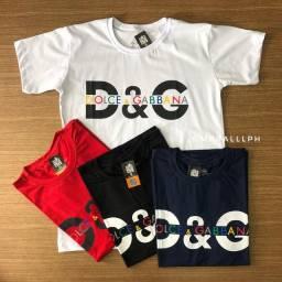 Camisas atacado : Nike, Dolce&Gabbana, Calvin klein, Reserva, tommy etc