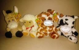 Urso de pelúcia antialérgico da fizzy Burrinho, Ovelha, Girafa