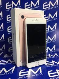 IPhone 7 32Gb Rosa com nota e garantia! loja fisica no centro de niteroi!