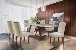 Mesa de jantar alvorada 6 cadeiras P526