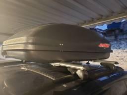 Maleiro bagageiro Jetbag de teto para rack tipo Thule
