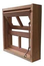 Báscula de madeira - World Portas