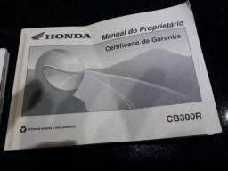 Manual cb 300r