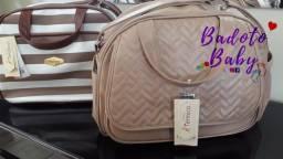 Kit de bolsas maternidade courino