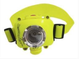 Lanterna de Cabeça LED Recarregável Resistente a Agua
