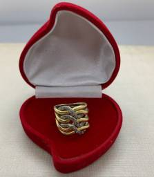 Anel Ouro 18k 750