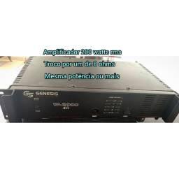 Amplificador Genesis 200 ws rms