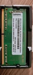Memória 4GB Ddr4 2666Ghz Lenovo