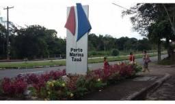 Terrenos de 1038,40m² e 992,50m²  condomínio Porto Marina Taua