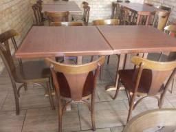Conjunto de mesas para restaurante