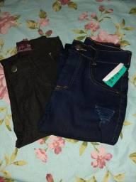 Duas calças jeans (nunca usadas) por 80R$