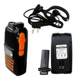 Radio Ht Dual Band(uhf+vhf) Baofeng Uv-6r + Fone
