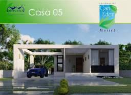 Belíssima casa á venda no Condomínio Gan Éden - Ubatiba - Maricá/RJ